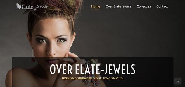 Photoshoot voor Elate Jewels